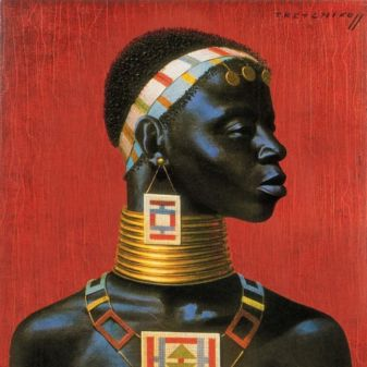 Ndebele Woman by Tretchikoff