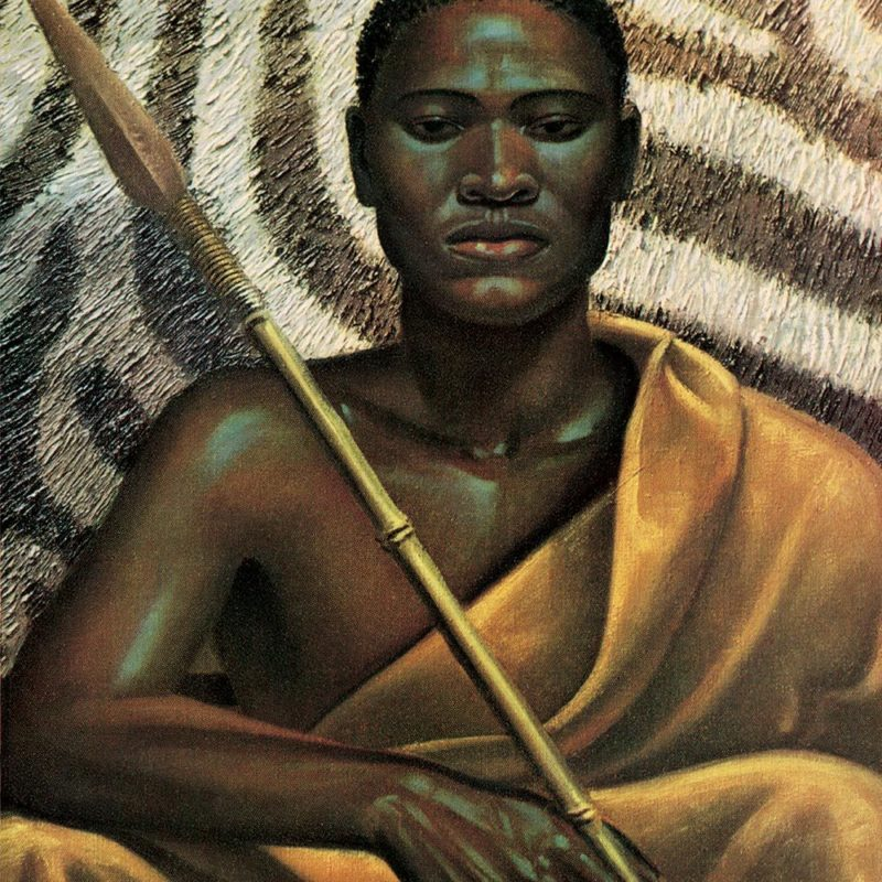 Xhosa Warrior by Tretchikoff